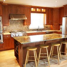 Modern Kitchen by Allen Interiors & Design Center Inc