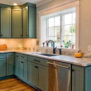 Moss Green Kitchen