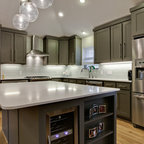 Jerome Village Lot 125 - Transitional - Kitchen - columbus - by Romanelli & Hughes Custom Home ...