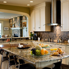 Contemporary Kitchen by Mother Hubbard's Custom Cabinetry