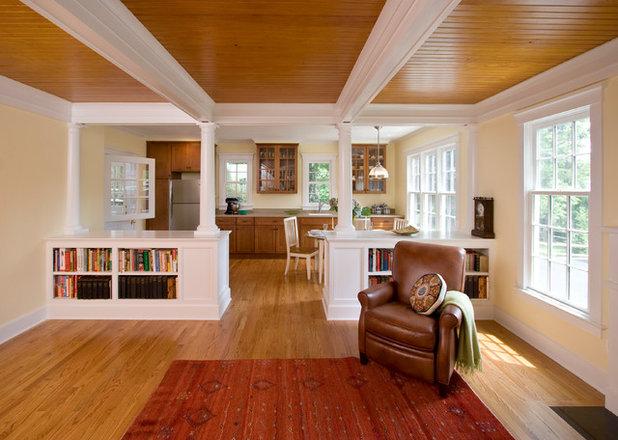 Craftsman Kitchen by Clawson Architects, LLC