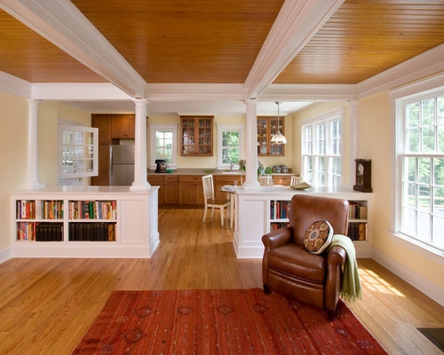 Mother in law suite home design ideas pictures remodel for Craftsman house plans with mother in law suite