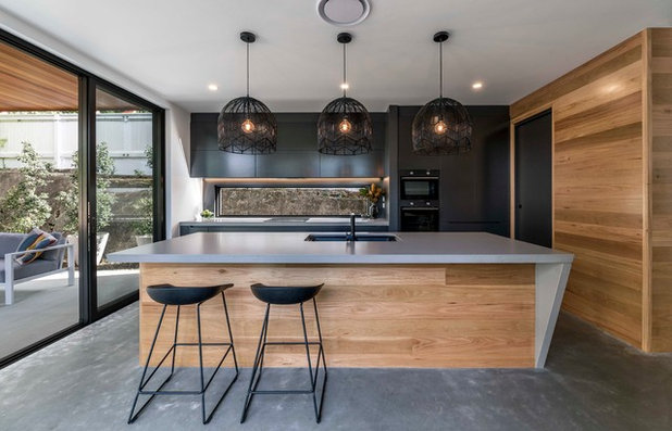 Contemporary Kitchen by Big House Little House