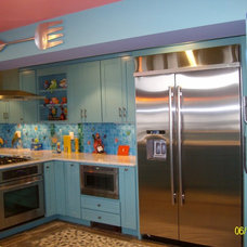 Tropical Kitchen by Ashland Lumber Kitchens