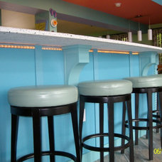 Tropical Kitchen by Ashland Lumber Kitchens