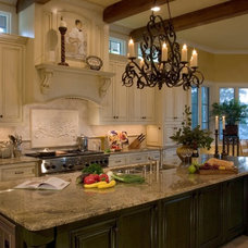 Eclectic Kitchen by Susie Johnson Interior Design, Inc.
