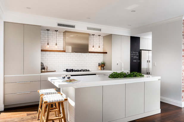Scandinavian Kitchen by Western Cabinets