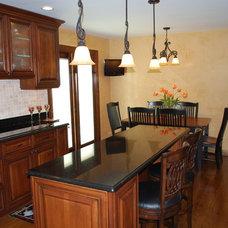 Mediterranean Kitchen by Great Spaces Home Improvement, Inc.