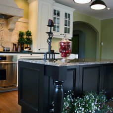 Traditional Kitchen by Oris Design Studio
