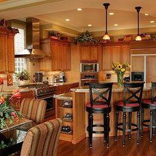Traditional Kitchen by Mark Parsons Design LLC