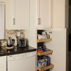 contemporary kitchen cabinets by Quality Stone Concepts