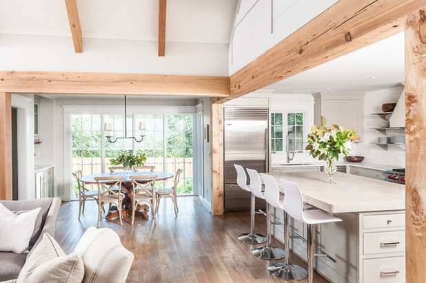 Transitional Kitchen by Christopher Architecture & Interiors