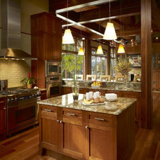 Contemporary Kitchen by Tidewater Lumber and Moulding, Inc.