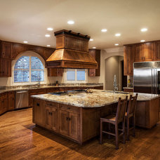traditional kitchen by Mountain Concepts