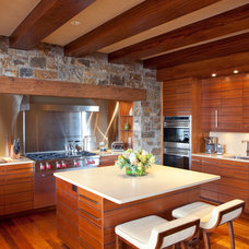 Contemporary Kitchen by Laura Abrams Design