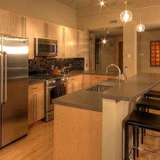 Contemporary Kitchen by Fedewa Custom Works