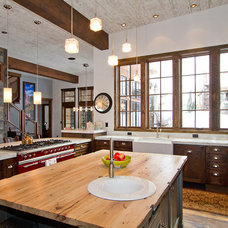 Eclectic Kitchen by Charlie Dresen, SteamboatsMyHome