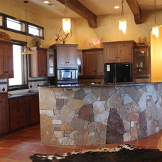 Eclectic Kitchen by Jasmyne's Interiors