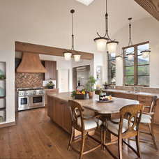 Mediterranean Kitchen by Allen Construction