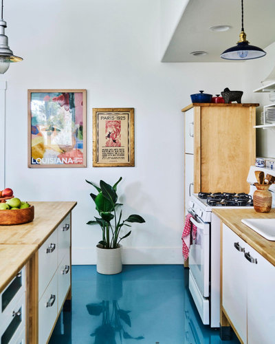 Shabby-chic Style Kitchen by Meta Coleman