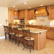 Traditional Kitchen by Crown Cabinets