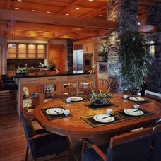 Asian Kitchen by Eide Construction, Inc. of Bellevue