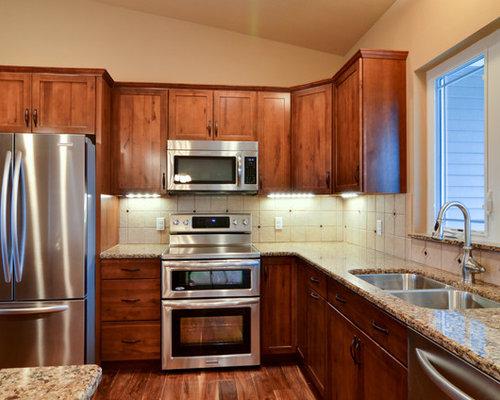 Aristokraft avalon maple in saddle home design ideas for Avalon kitchen cabinets
