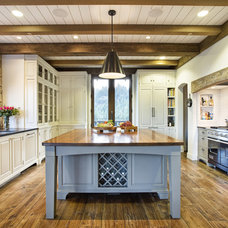 Rustic Kitchen by Michael Rex Architects