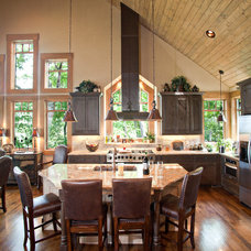 Traditional Kitchen by Tyner Construction Co Inc