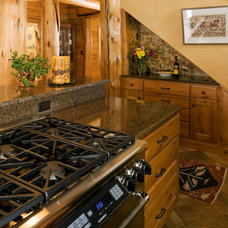 Rustic Kitchen by Barb Stimson Cabinet Designs
