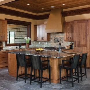 Mountain Modern Log Home: The Hahn's Peak Residence - Kitchen