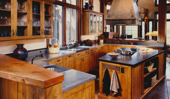 Mountain Rustic Kitchen in Alder