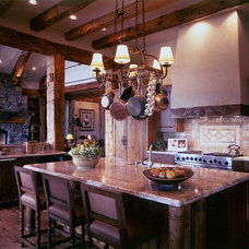 Rustic Kitchen by TKP Architects
