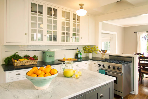 American Traditional Kitchen by Beth Dana Design