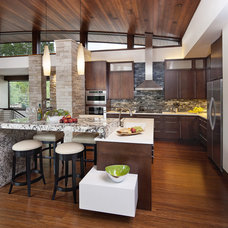 Contemporary Kitchen by Mosaic Architects SF