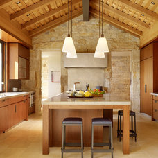 Farmhouse Kitchen by Walker Warner Architects