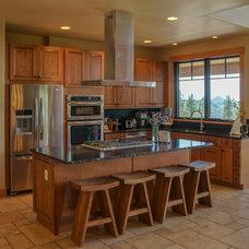 Rustic Kitchen by Kogan Builders