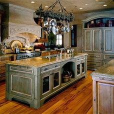 Rustic Kitchen by Paula Berg Design Associates