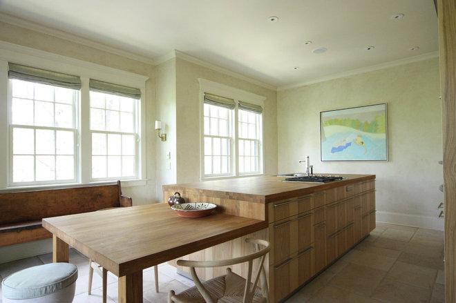 Rustic Kitchen by Bradley E Heppner Architecture, LLC