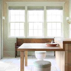 Farmhouse Kitchen by Bradley E Heppner Architecture, LLC