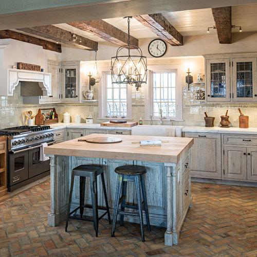 Brick Flooring Kitchen: Best 20 Brick Floor Kitchen Ideas & Remodeling Pictures
