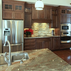 Traditional Kitchen by Starlite Kitchens and Baths