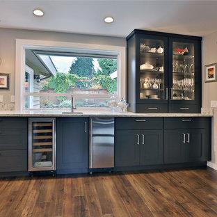 Midcentury kitchen in Seattle.