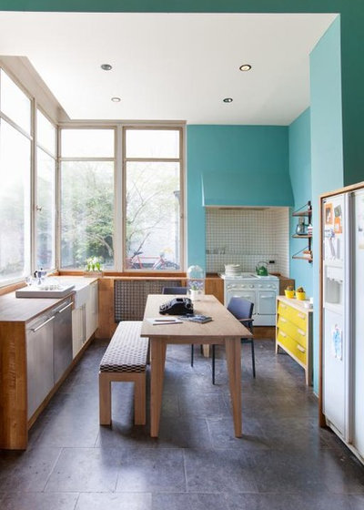 Contemporary Kitchen by Soul & Tables