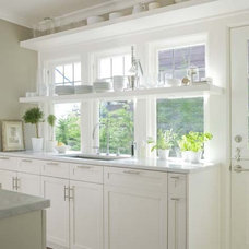 craftsman kitchen by Bosworth Hoedemaker