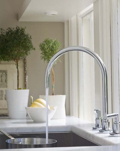 Best high end faucet design ideas remodel pictures houzz for Craftsman style kitchen faucets