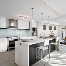 Contemporary Kitchen by Residential Attitudes