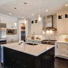 Contemporary Kitchen by Blu West Homes