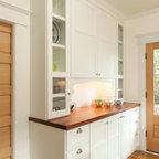 Built-in buffet cabinet - Craftsman - Kitchen - Seattle - by MRF Construction, Inc.