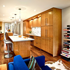 Contemporary Kitchen by Ahn + Robinson Studio, LLC